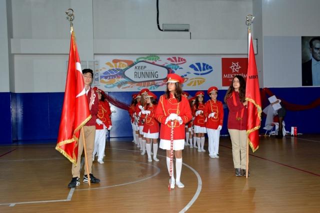 Mektebim Koleji: Cumhuriyet Marşları Bando Festivalinde Hayat Buldu
