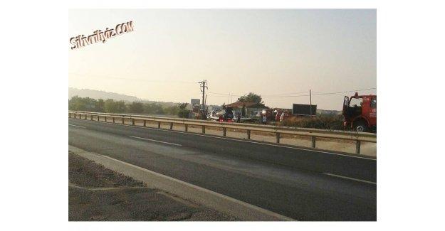 Silivri Muratsuyu'nda Trafik Kazası 1 Ölü...