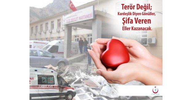 Dr. Sadık Balcı Teröre Karşı Basın Açıklaması Yaptı...