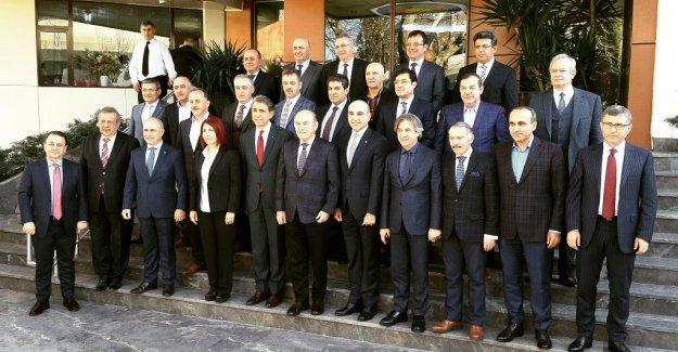 Başkanlar Bir Araya Geldi...