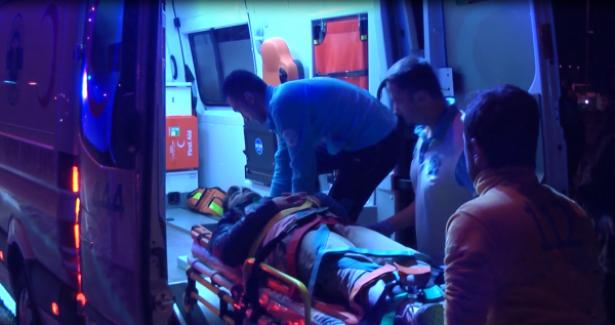 Otomobilin Çarptığı Bisiklet Sürücüsü Hastaneye Kaldırıldı...