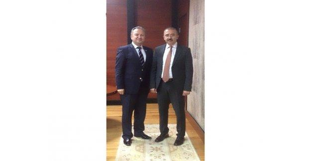 Silivri SGK Müdürü Mehmet Kayalı, Kaymakam Bekarlar'a Bilgi Verdi...