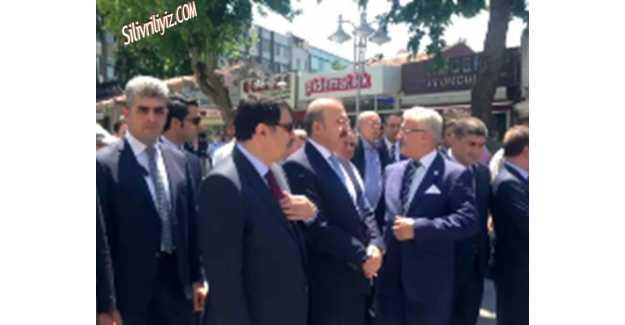 Numan Kurtulmuş'a Silivri'de Muhteşem Karşılama...Video Haber