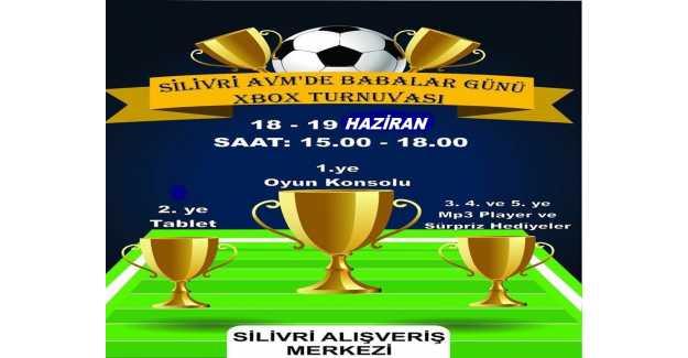 Silivri AVM'de Babalar Günü XBOX Turnuvası...