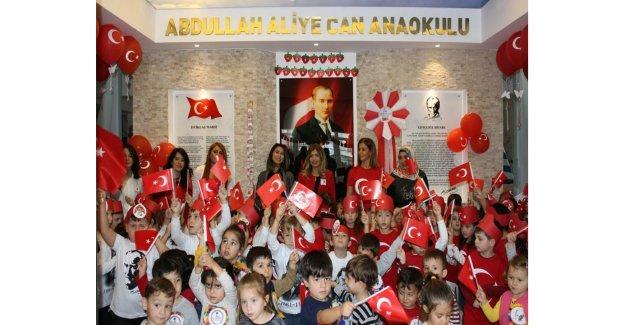 Abdullah Aliye Can Anaokulu Cumhuriyet Bayramını Böyle Kutladı…