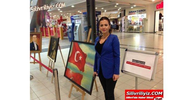 """Silivri AVM'de """"Cumhuriyet Sergisi"""" Açıldı…"""