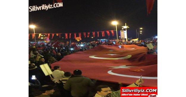 Silivri'de Cumhuriyet Bayramı Böyle Kutlandı…