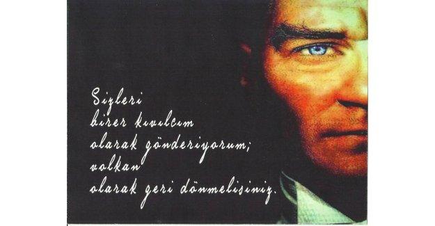 Silivri'de 10 Kasım Atatürk'ü Anma Programı...