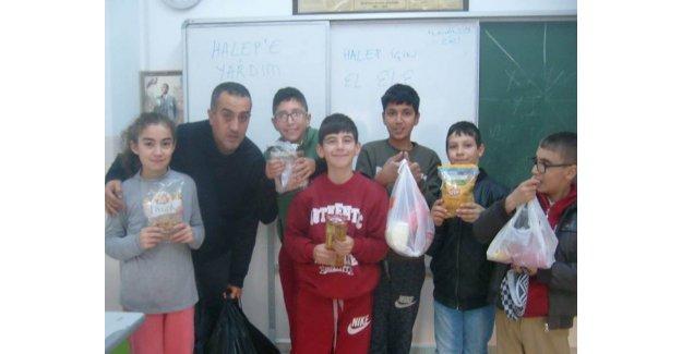 Özel Öğrencilerden Halep İçin Örnek Yardım…