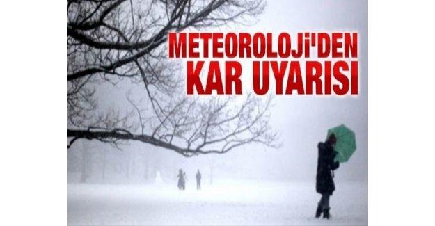 Soğuk Hava Balkanlardan Girdi Kar Bekleniyor…