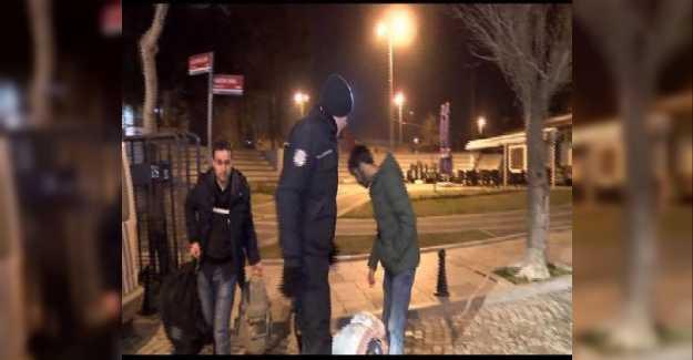 Silivri'de Kaçak Göçmen Operasyonu…
