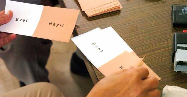 Cumhurbaşkanı Onayladı Referandumun 16 Nisan'da Yapılması Bekleniyor…