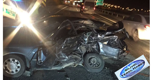 Silivri TEM Gişelerindeki Trafik Kazasında 2 Kişi Öldü...
