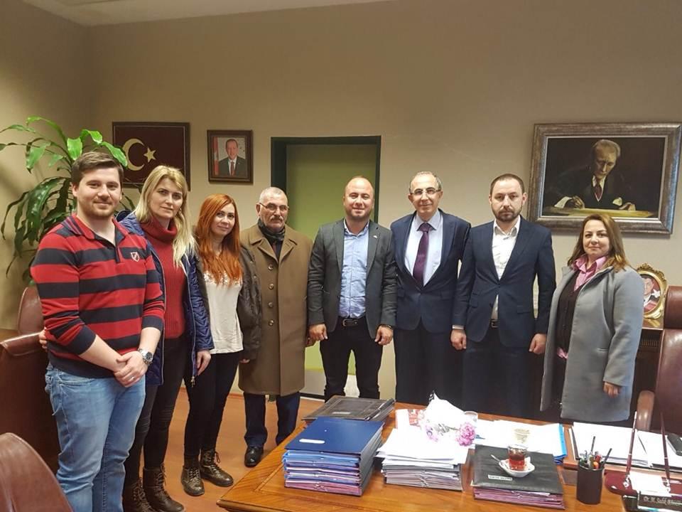 MHP Silivri İlçe Teşkilatı'ndan Anlamlı Ziyaret…