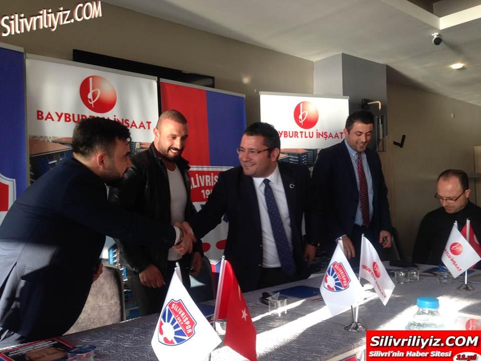 Silivrispor Tarihinin En Büyük Sponsoru Bayburtlu İnşaat Oldu… VİDEO HABER