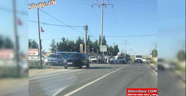 Fenerköy Yolunda Trafik Kazası… ÖZEL HABER