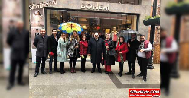 İYİ Parti Silivri Yönetimi Tek Tek Kadınlar Gününü Kutladı…