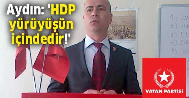 """Latif Aydın; """"CHP'nin Başlattığı Yürüyüşe Tavrımızdır"""""""