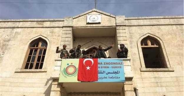 Türk Silahlı Kuvvetleri ve ÖSO Afrin'i Teröristlerden Temizledi…