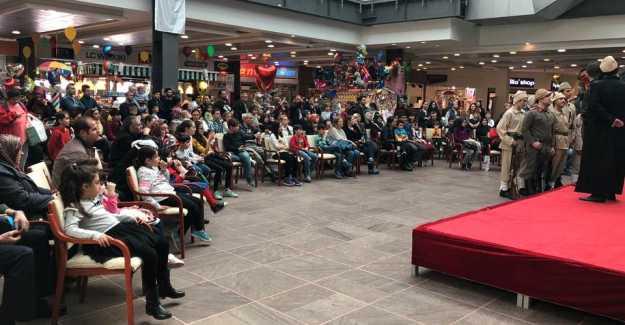 Ali Solmaz Silivri AVM'de Çanakkale Zaferini Yaşattı…