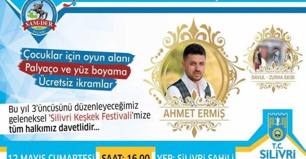Bu Özel Festival ve Ahmet Ermiş Konserini Kaçırmayın...
