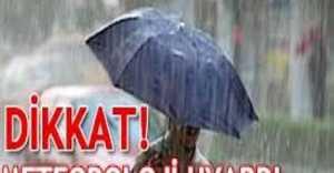 Meteoroloji Uyardı...