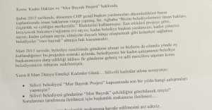 """AK Parti Önergesinde """"Mor Bayrak """" Nerede Diye Sordu..."""