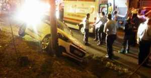 Silivri'de meydana gelen Trafik kazasında 1 kişi yaralandı.
