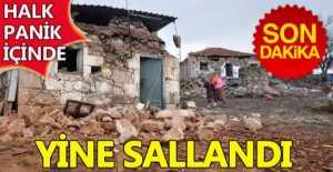 Ayvacık ve Girit'te Deprem Yine Korkuttu...