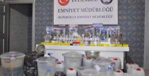 Silivri'de Evinde Uyuşturucu İmal Eden Kadın Yakalandı… VİDEO HABER
