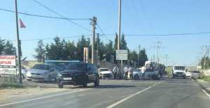 Fenerköy Yolunda Trafik Kazası…...