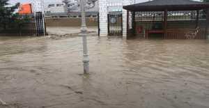 Gümüşyaka'da Yazlık Bölgeler Sel Altında… ÖZEL HABER