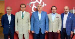 Ümit Kalko, Yargıtay Başsavcısı Mehmet Akarsu ile Silivri ve Silivrispor Seçimini Görüştü...