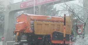Kar Yağışı Kırklareli#039;nde...