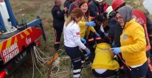 Silivri'de Yamaç paraşütü keyfi faciayla sonuçlanıyordu...