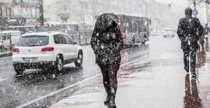 Kar Geliyor Dedik Ama…