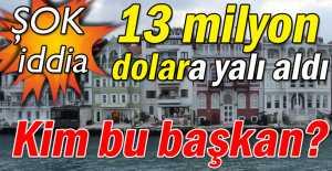Sarıyer Gazetesi şok bir iddiayı gündeme taşıdı…