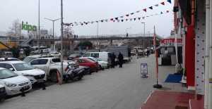 Silivri'de Sokaklar Boşaldı…