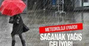 Silivri'de Çarşamba Günü İçin Sağanak Yağış Uyarısı…