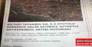 ÖZEL FLAŞ HABER… SİLİVRİ KİPA...
