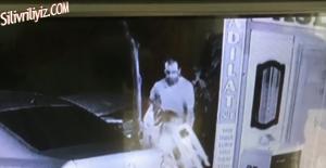 Sandalye Çalarken Kameraya Yakalandı. VİDEO HABER