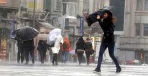 Meteorolojiden Fırtına Uyarısı…