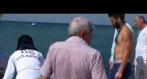 Silivri Parkköy Sahili'nde boğulma