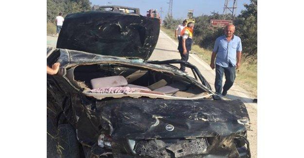 Silivri Çeltik Yolunda Meydana Gelen Kazada 1 Kişi Öldü, 5 Kişi Yaralandı.