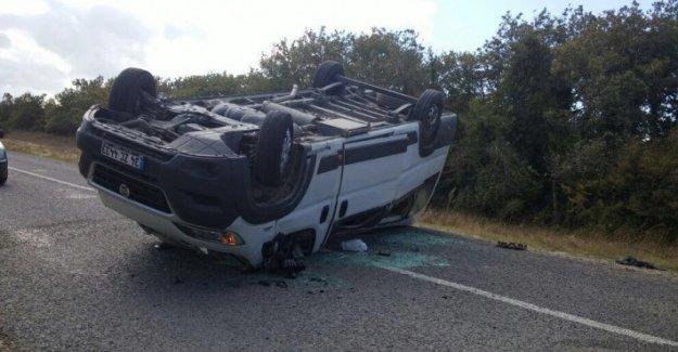Sinekli Yolunda Trafik Kazası 2'si Ağır 11 Yaralı...