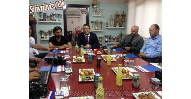 Silivrispor Başkanı Ümit Kalko'nun Basın Toplantısı. VİDEO HABER