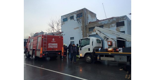 Silivri Sanayi Sitesi'nde TRAFO Patladı… İki Yaralı