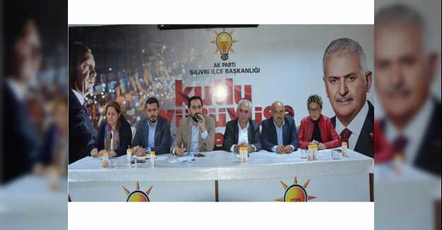 AK Parti Silivri'de Demokratik Toplantı…