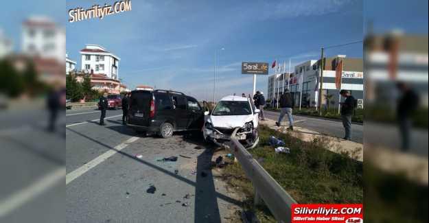 Silivri Çıkışında Trafik Kazası 1 Ölü…