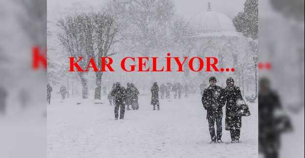 Silivri'ye Ocak Ayında Ne zaman Kar Yağacak?
